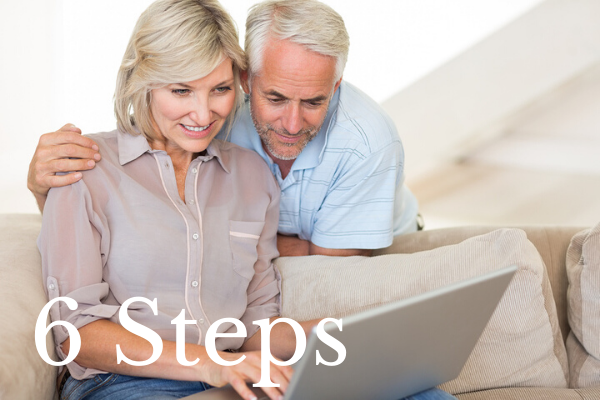 6 Steps for Converting Retirement Savings into Retirement Income